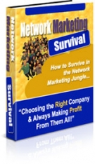 Network Marketing Survival eBook with Private Label Rights