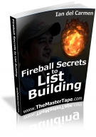 Fireball Secrets to List Building eBook with Resell Rights