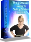 The 5 Essential Guides To Getting Started Online eBook with Resell Rights