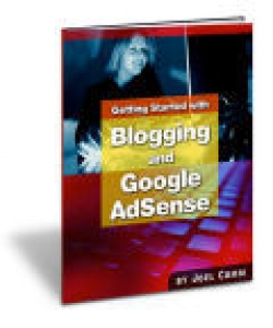 Getting Started With Blogging And AdSense