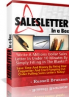 SalesLetter In A Box Software with Private Label Rights