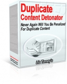 Duplicate Content Detonator Software with Master Resale Rights