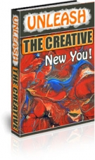 Unleash The Creative New You! eBook with private label rights
