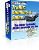 Traffic, Signups, & Sales eBook with Private Label Rights