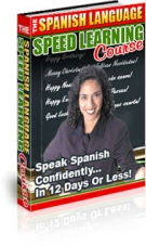 The Spanish Language Speed Learning Course eBook with Private Label Rights
