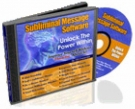 Subliminal Message Software Software with Master Resale Rights