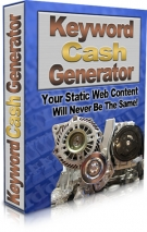 Keyword Cash Generator Software with Resell Rights