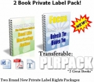 2 PLR Pack eBook with Private Label Rights