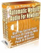 Automatic Website Audio For Newbies eBook with Master Resale Rights