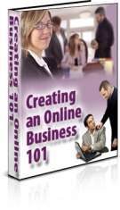 Creating an Online Business 101 eBook with Resell Rights