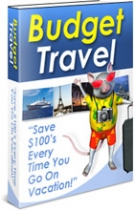 Budget Travel eBook with Resell Rights