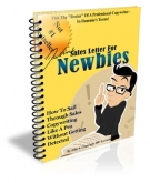 Sales Letter For Newbies eBook with Private Label Rights