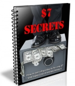$7 Secrets eBook with Master Resale Rights