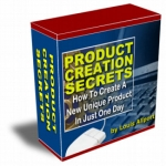 Product Creation Secrets Video with Resell Rights