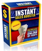 Instant Sales Booster Software with Resell Rights