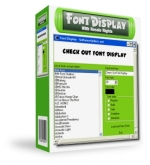 Font Display with Resale Rights Graphic with Master Resale Rights