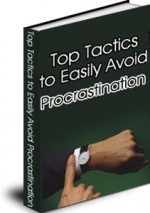 Top Tactics To Easily Avoid Procrastination eBook with Master Resale Rights
