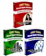 First Class Resell Rights Marketer Series eBook with Master Resale Rights