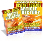 Instant Adsense Article Directory eBook with Resell Rights