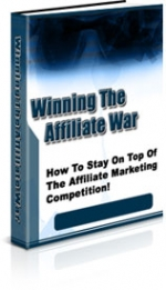 Winning The Affiliate War eBook with Private Label Rights