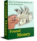 Found Money - 101 Ways To Raise Emergency Money! eBook with Resell Rights