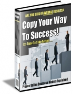 Copy Your Way To Success! eBook with Master Resale Rights