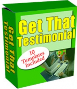 Get That Testimonial