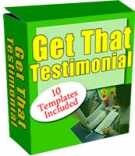 Get That Testimonial Software with private label rights