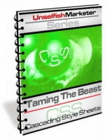 Taming the Beast - Cascading Style Sheets eBook with Master Resale Rights
