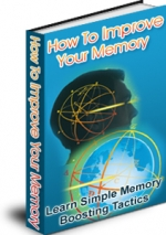 How to Improve Your Memory eBook with Master Resale Rights