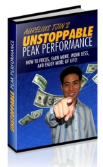 Unstoppable Peak Performance eBook with Resell Rights