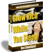 Grow Rich While You Sleep eBook with Master Resale Rights