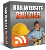 RSS Website Builder Software with private label rights