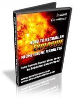 How To Become An Explosive Niche-Rich Marketer Video with Master Resale Rights
