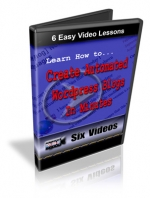 Learn How To Create Automated Wordpress Blogs Video with Resell Rights