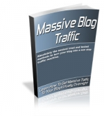 Massive Blog Traffic eBook with Master Resale Rights