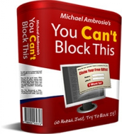 You Can\'t Block This - Popup Software