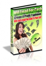 Will Email For Cash eBook with Master Resale Rights