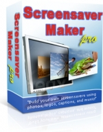 Screensaver Maker Pro Software with Private Label Rights