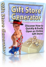 Gift Store Generator Software with Private Label Rights