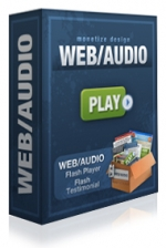 WEB/AUDIO Flash Player Software with Resell Rights