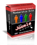 How To Create A Membership Site With Joomla! Video with private label rights