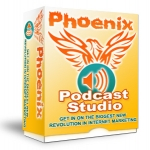 Phoenix Podcast Studio Software with Resell Rights