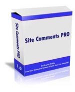 Site Comments Pro Software with Master Resale Rights