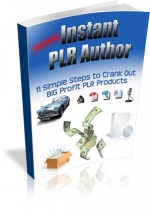Instant PLR Author eBook with Private Label Rights