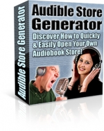 Audible Store Generator Software with Private Label Rights