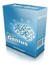 Project Genius Software with Resale Rights