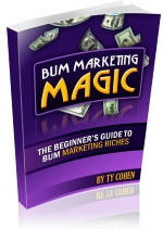 Bum Marketing Magic eBook with Private Label Rights