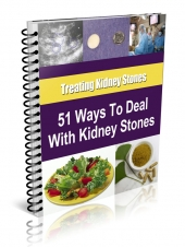 51 Tips for Dealing with Kidney Stones eBook with Resale Rights