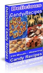 Delicious Candy Recipes eBook with Private Label Rights